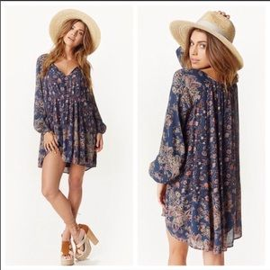 Free People Floral Tunic NWT!